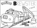 Chuggington Docks Brewster Designlooter Koko Olwin sketch template
