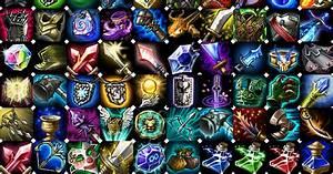 Blizzard Games League Of Legends Item Icons