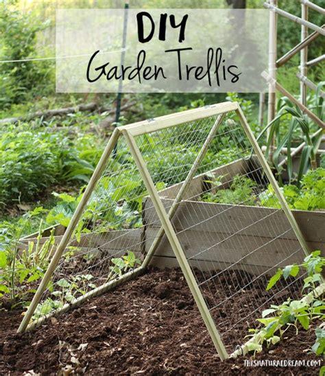 Diy Garden Trellis  This Natural Dream
