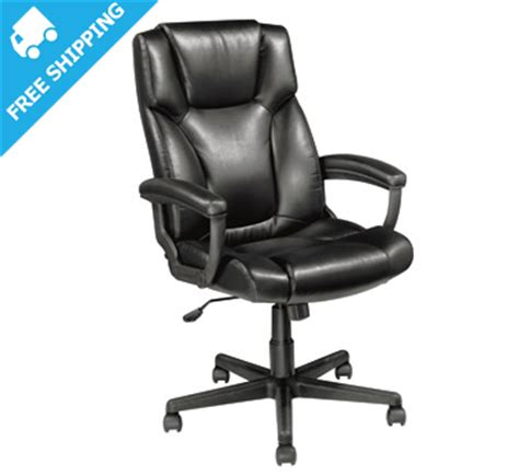 officemax sale high back executive chair for only 59 99