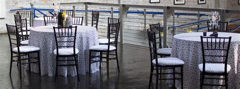 chair cover rentals linen rentals chiavari chair