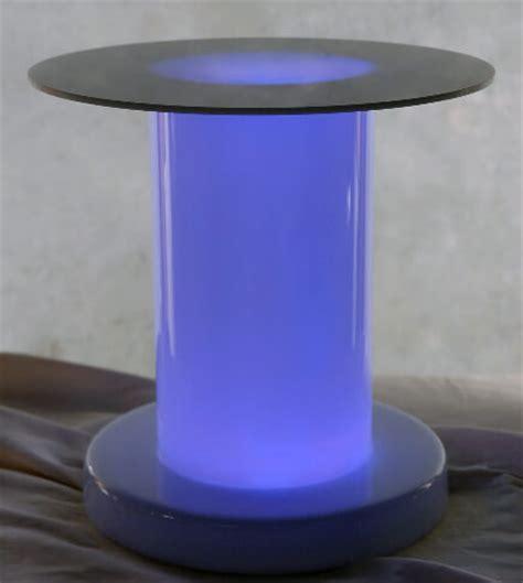translucent column riser