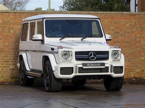 Specific amg front apron and amg radiator grille with black grille. 2014 Used Mercedes-Benz G63 AMG | Polar White