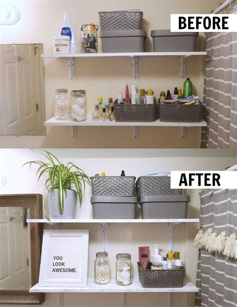 Bathroom Decorating Ideas For A Rental by How To Decorate A Rental Bathroom 65 Bathroom Makeover