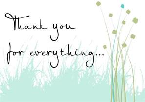 Sympathy Thank You Note Wording