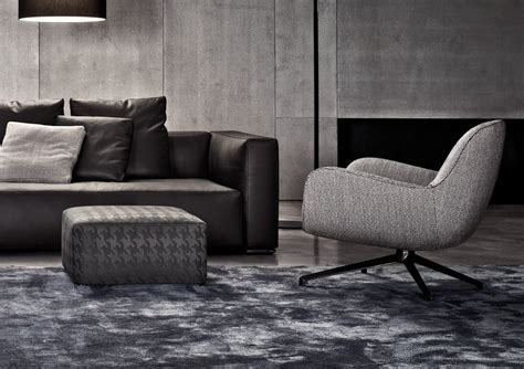 Jensen Low Back Armchair By Minotti