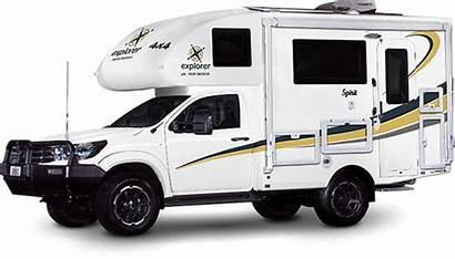 Person Camper Motorhome Spirit Explorer Camping 4x4