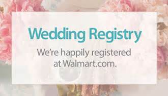walmart wedding gifts how to create your walmart registry parent and baby center walmart