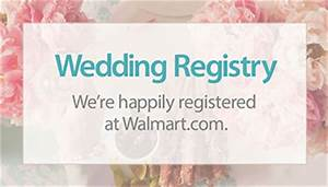 How to create your walmart registry parent and baby for Walmart wedding gift registry