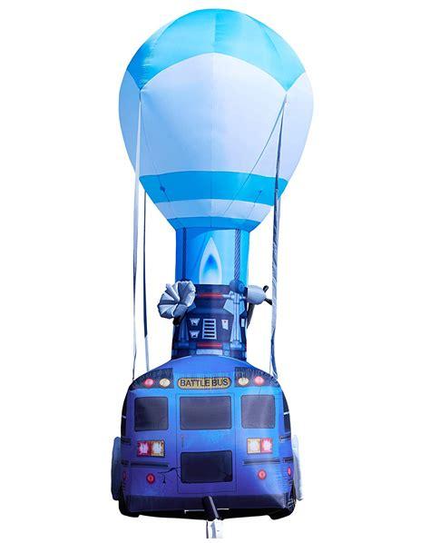 foot fortnite battle bus inflatable gadgetkingcom