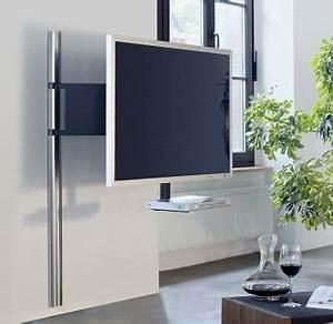 Tv Lowboard Mit Tv Halterung : elegante und sehr stabile tv wandhalterung mit drehbarem ~ Michelbontemps.com Haus und Dekorationen