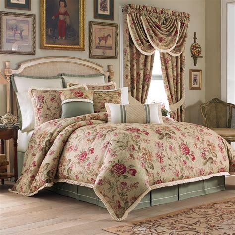 bedroom antique floral king comforter sets for elegant