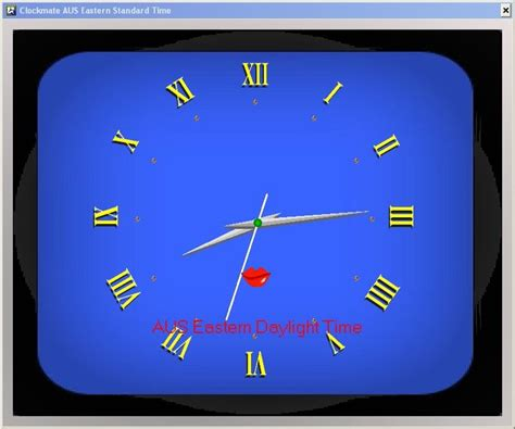 horloge bureau windows xp horloge ecran de veille xp