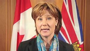 Premier Christy Clark's Web Report - YouTube