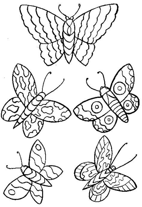 chambre papillon coloriage papillons papillons 3 à colorier allofamille