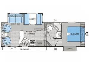 2015 jayco eagle ht 26 5rls 5th wheel floor plan