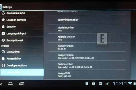 acer iconia  ics hands  review