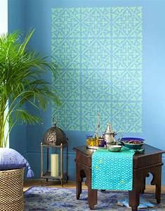 die 25 besten ideen zu marokkanische muster auf pinterest With balkon teppich mit tapete american style
