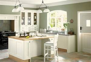 Top 20 kitchen wall colors with white cabinets and photos for Kitchen colors with white cabinets with upcycled wall art
