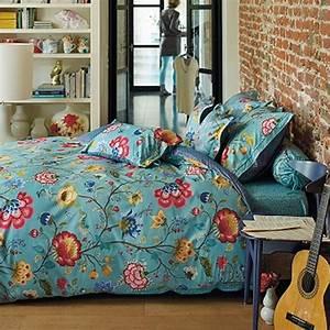 Housse De Couette Fleurie : pip studio housse couette 200 x 200 cm 2 taies floral ~ Melissatoandfro.com Idées de Décoration