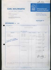 Lieferung Drittland Rechnung Deutschland : l290 stuttgart alte rechnung fahrradteile fahrrad 1957 ~ Themetempest.com Abrechnung