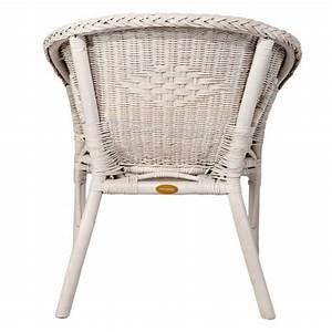 Fauteuil En Osier : fauteuil en osier blanc fauteuil pas cher rotin design ~ Melissatoandfro.com Idées de Décoration