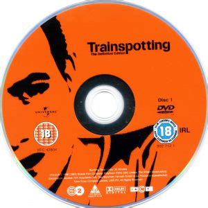 trainspotting 1996 se r2 movie dvd label dvd cover front cover