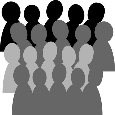high quality people clipart crowd transparent png