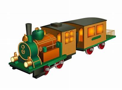 Train Wooden Clip Wagon Toy Weinlese Illustrations
