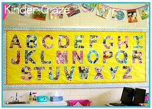 freebielicious alphabet wall templates With large alphabet letters for classroom wall