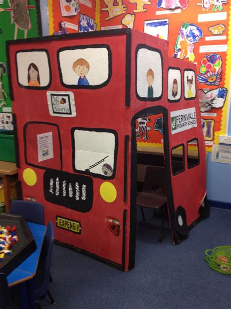 Double Decker Bus Role Play  Travel Week! Pinterest