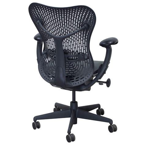 Herman Miller Mirra Chair Used by Herman Miller Mirra Used Mesh Seat Task Chair Graphite