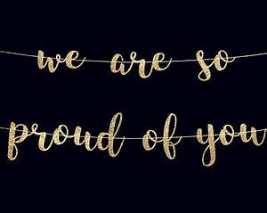 We are proud of you | Etsy