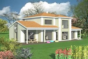 Plan Maison Moderne Avec Mezzanine. plan maison avec mezzanine ...