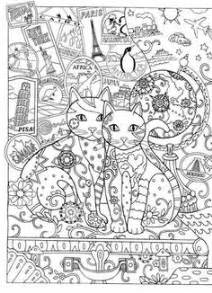 creative cats pin debbe rieth auf intricate coloring