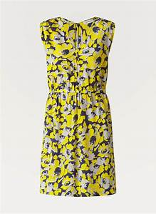 Gerard darel robe en soie imprimee fleuri dress to for Robe darel