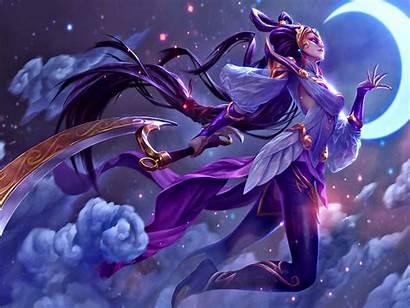 Legends League Diana Goddess Moon Anime Backgrounds