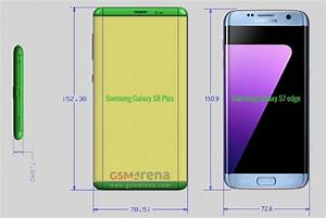Alleged Dimensions Of The Samsung Galaxy S8 And Samsung S8