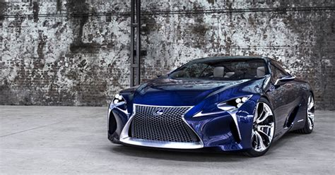 lexus lf lc blue concept photo gallery lexus enthusiast