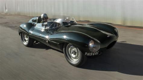 1955 Jaguar D-type Auctioned