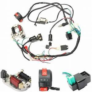 50cc 70cc 90cc 110cc Cdi Kit De Cable Del Mazo De Cables