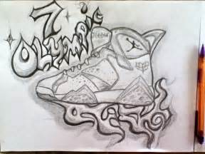 Air Jordan 7 Drawing