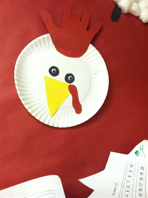animal farm theme rooster   paper plate p
