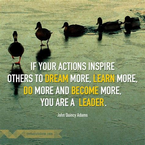 actions inspire   dream  learn