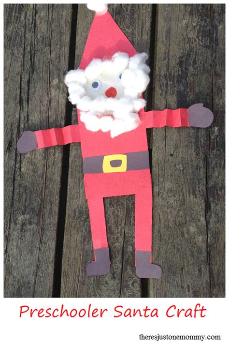 preschool santa crafts 25 amazing santa crafts to try right now 471