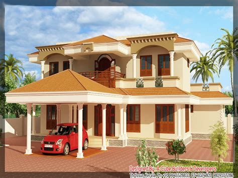 model kerala house plans beautiful houses kerala floor plan dream house treesranchcom