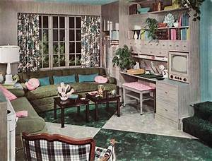 1953 Armstrong Living Room - Gray & Turquoise Mother-in