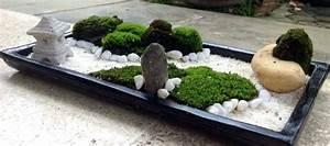 Jardin Japonais Interieur : jardin zen miniature le guide du petit mini jardin japonais ~ Dallasstarsshop.com Idées de Décoration