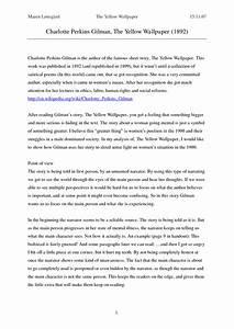 Personal Statement Question Yellow Wallpaper Thesis Statement Wallpapersafari