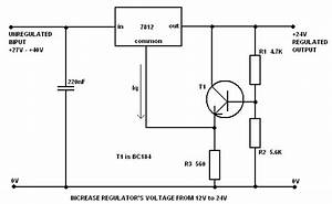 Increase Regulator Voltage Output